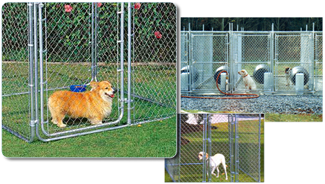 Atlas Fence Company Offers Kennels For All Shapes And Sizes Both Large Small Breeds Are Easily Accomidated With Our Line Of Kennel Fencing