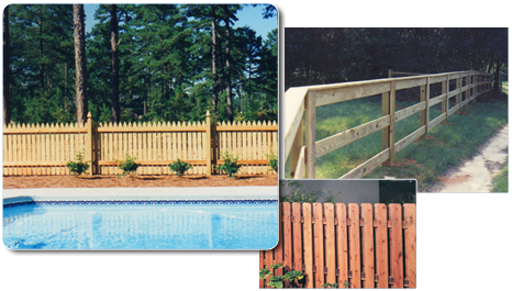 Wood Fencing Page